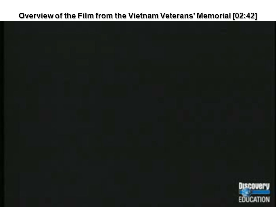 Overview of the Film from the Vietnam Veterans Memorial [02:42]